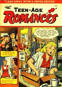 Cover Thumbnail for Teen-Age Romances (St. John, 1949 series) #23