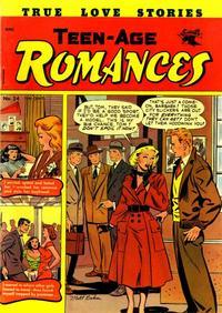 Cover Thumbnail for Teen-Age Romances (St. John, 1949 series) #24