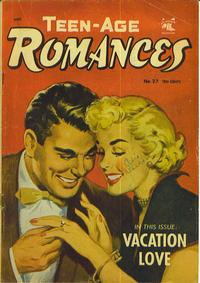 Cover Thumbnail for Teen-Age Romances (St. John, 1949 series) #27