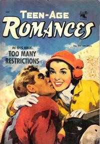 Cover Thumbnail for Teen-Age Romances (St. John, 1949 series) #28