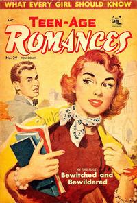 Cover Thumbnail for Teen-Age Romances (St. John, 1949 series) #29