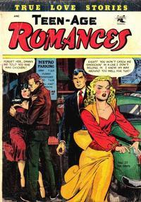 Cover Thumbnail for Teen-Age Romances (St. John, 1949 series) #31