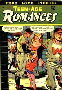 Cover Thumbnail for Teen-Age Romances (St. John, 1949 series) #33
