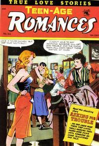 Cover Thumbnail for Teen-Age Romances (St. John, 1949 series) #34