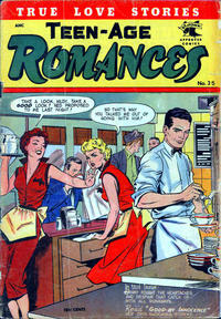 Cover Thumbnail for Teen-Age Romances (St. John, 1949 series) #35