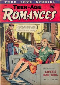 Cover Thumbnail for Teen-Age Romances (St. John, 1949 series) #36