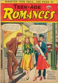 Cover Thumbnail for Teen-Age Romances (St. John, 1949 series) #37