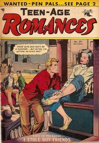 Cover Thumbnail for Teen-Age Romances (St. John, 1949 series) #39