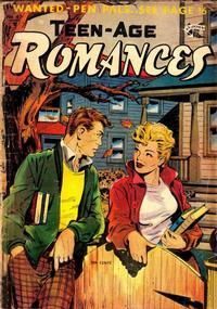 Cover Thumbnail for Teen-Age Romances (St. John, 1949 series) #42