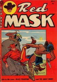 Cover Thumbnail for Red Mask (Magazine Enterprises, 1954 series) #42