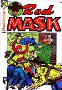 Cover for Red Mask (Magazine Enterprises, 1954 series) #43