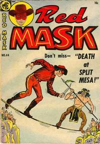 Cover for Red Mask (Magazine Enterprises, 1954 series) #44