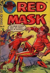 Cover Thumbnail for Red Mask (Magazine Enterprises, 1954 series) #45