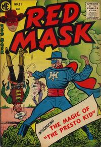 Cover Thumbnail for Red Mask (Magazine Enterprises, 1954 series) #51
