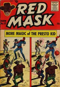 Cover Thumbnail for Red Mask (Magazine Enterprises, 1954 series) #52