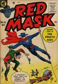 Cover Thumbnail for Red Mask (Magazine Enterprises, 1954 series) #53
