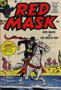 Cover Thumbnail for Red Mask (Magazine Enterprises, 1954 series) #54