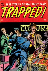 Cover Thumbnail for Trapped! (Ace Magazines, 1954 series) #4