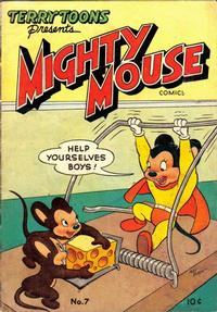 Cover Thumbnail for Mighty Mouse Comics (St. John, 1947 series) #7