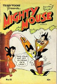 Cover Thumbnail for Mighty Mouse (St. John, 1947 series) #10