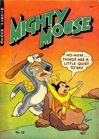 Cover Thumbnail for Mighty Mouse (St. John, 1947 series) #12