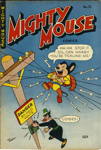 Cover Thumbnail for Mighty Mouse (St. John, 1947 series) #15