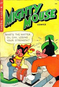 Cover Thumbnail for Mighty Mouse (St. John, 1947 series) #17