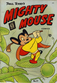 Cover Thumbnail for Mighty Mouse (St. John, 1947 series) #21 [52-pages]