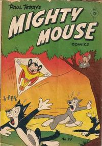 Cover Thumbnail for Paul Terry's Mighty Mouse Comics (St. John, 1951 series) #29