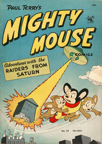 Cover Thumbnail for Paul Terry's Mighty Mouse Comics (St. John, 1951 series) #35