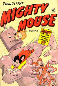 Cover Thumbnail for Paul Terry's Mighty Mouse Comics (St. John, 1951 series) #38