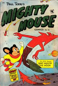 Cover Thumbnail for Paul Terry's Mighty Mouse Comics (St. John, 1951 series) #42