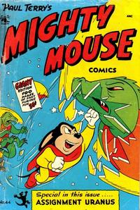 Cover Thumbnail for Paul Terry's Mighty Mouse Comics (St. John, 1951 series) #44