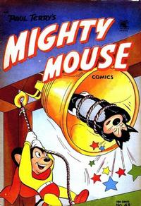Cover Thumbnail for Paul Terry's Mighty Mouse Comics (St. John, 1951 series) #48