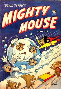 Cover Thumbnail for Paul Terry's Mighty Mouse Comics (St. John, 1951 series) #49