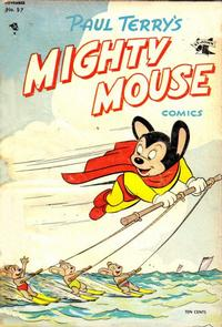 Cover Thumbnail for Paul Terry's Mighty Mouse Comics (St. John, 1951 series) #57