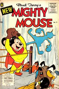 Cover Thumbnail for Paul Terry's Mighty Mouse (Pines, 1956 series) #71