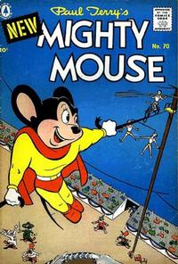 Cover Thumbnail for Paul Terry's Mighty Mouse (Pines, 1956 series) #70