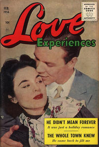 Cover for Love Experiences (Ace Magazines, 1951 series) #36