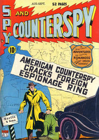 Cover Thumbnail for Spy and Counterspy (American Comics Group, 1949 series) #1