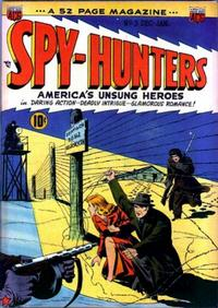 Cover Thumbnail for Spy-Hunters (American Comics Group, 1949 series) #3