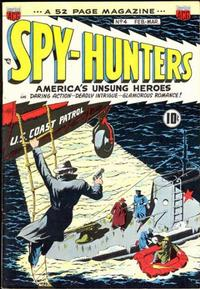 Cover Thumbnail for Spy-Hunters (American Comics Group, 1949 series) #4