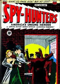 Cover Thumbnail for Spy-Hunters (American Comics Group, 1949 series) #5