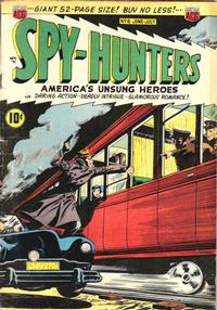 Cover Thumbnail for Spy-Hunters (American Comics Group, 1949 series) #6