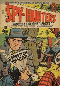 Cover Thumbnail for Spy-Hunters (American Comics Group, 1949 series) #7