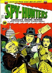 Cover Thumbnail for Spy-Hunters (American Comics Group, 1949 series) #8