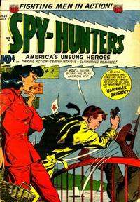 Cover Thumbnail for Spy-Hunters (American Comics Group, 1949 series) #24