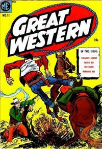 Cover Thumbnail for Great Western (Magazine Enterprises, 1953 series) #11