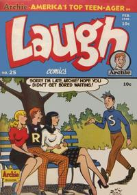 Cover Thumbnail for Laugh Comics (Archie, 1946 series) #25