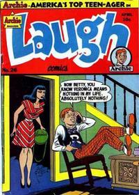 Cover Thumbnail for Laugh Comics (Archie, 1946 series) #26